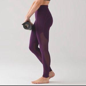 Lululemon Hot Like Agni Leggings Purple